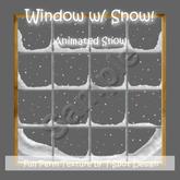 Window w/ Animated (Falling) Snow - FULL PERM