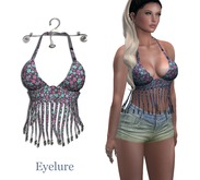 Eyelure Fringe Top    Floral