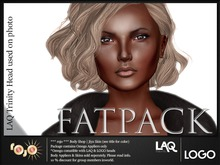 *** rojo *** Logo & LAQ Head Head OMEGA Applier Jiya 3 colors FATPACK