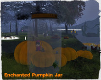 :TBM:Enchanted Pumpkin Jar Seat (Boxed)