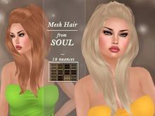 !SOUL - HAIR - Lulu - 12 Nuances - BROWN 2
