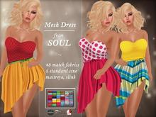 !Soul Mesh Dress - Liam 24H PROMO