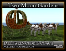 HALLOWEEN CUDDLE COACH* with 33 Animations