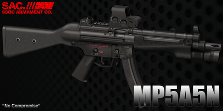 [SAC] MP5 A5 Navy SMG for LLCS v1.04 Box Sale 20% Off