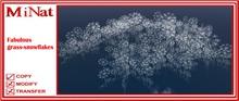 MN Fabulous grass-snowflakes