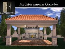 The Mediterranean Gazebo by Galland Homes
