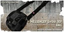 .dystopia. messenger shoulder bag