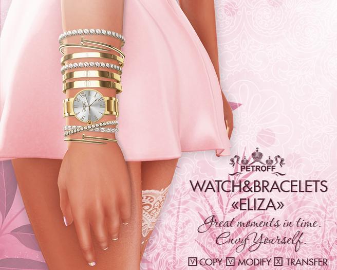 """*PetroFF*  Watch&Bracelets """"Eliza"""""""