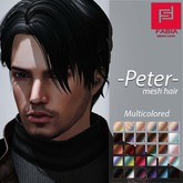 -FABIA- Mesh Hair  <Peter> Multicolored Tones