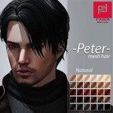 -FABIA- Mesh Hair  <Peter> Natural Tones