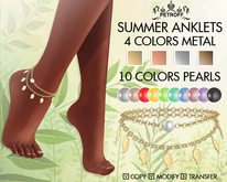*PetroFF* Summer Anklets