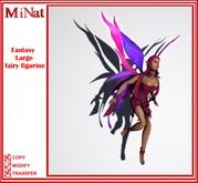 MiNat Fantasy Large fairy figurine.