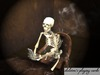 Skeleton playing cards detailed pic