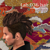 *booN Lab.036 hair black pack
