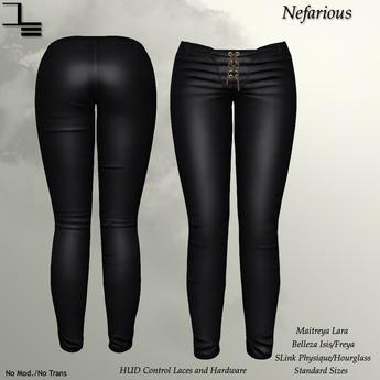 DE Designs - Nefarious - Black