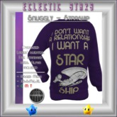 Eclectic Stars - Snuggly - Starship