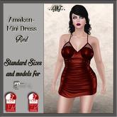 Awaken Mini Dress - Red