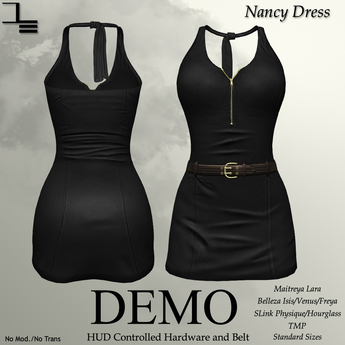 DE Designs - Nancy Dress - DEMO