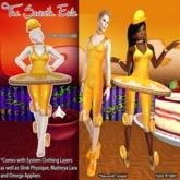 T7E: Crispy Cake Ballerina - Caramel