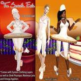 T7E: Crispy Cake Ballerina - Cream