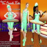 T7E: Crispy Cake Ballerina - Spearmint