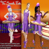 T7E: Crispy Cake Ballerina - Grape