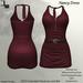 DE Designs - Nancy Dress - Merlot