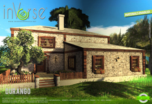 inVerse® MESH - DURANGO_full furnished mesh house cottage  - Materials enabled - Dynamic lights