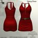 DE Designs - Nancy Dress - Red