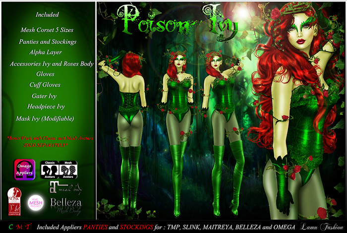 -Lamu Fashion-Outfit *Poison Ivy*