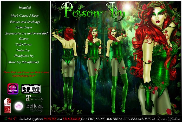 -Lamu Fashion-Outfit *Poison Ivy* DEMO