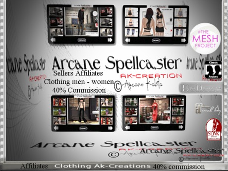 bag Affiliates Clothing V1.0 *Arcane Spellcaster* Ak-C.