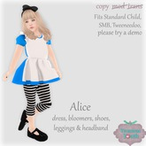 {V*Y} Alice Costume (Big Kids)