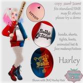 {V*Y} Harley Quinn Costume (big kids)