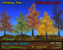Linden Tree [PAWN] - All Seasons, 224 Combination, Climbing Tree w/ Whispering Wind