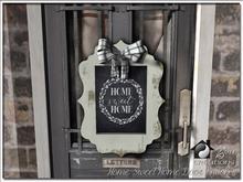 Home Sweet Home Door Frame