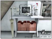 Spring Blackboard Art Table Set PROMO