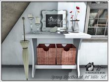Spring Blackboard Art Table Set PROMO