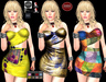 M&M-MANDY DISCO DRESS-S