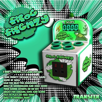 Frog Frenzy Game (Whack A Mole)