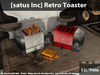 [satus Inc] Retro Toaster