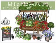 LOVE - OLD FLOWER CART - 100% MESH