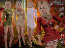 Sweet Temptations :: Nature Outfit (Maitreya clothes, Slink Physique, Hourglass) @ 18 Textures HUD