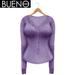 BUENO - Henley Shirt - Lavender