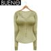BUENO - Henley Shirt - Lemonade