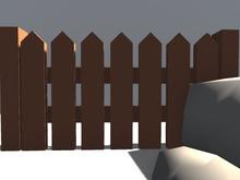 10.CRAFT - Anime Fence FULL PERM!! 100% MESH!!