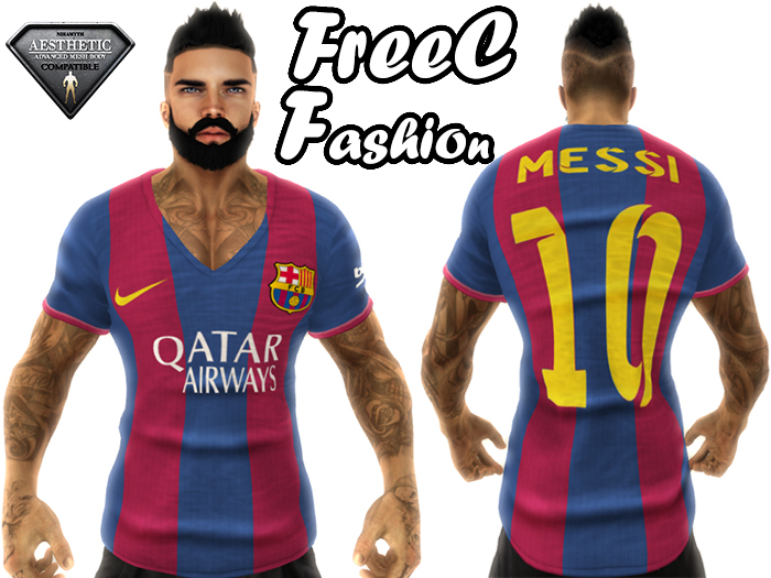 Second Life Marketplace Freec Fashion T Shirt F C Barcelona Aesthetic