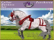 *E* Collar Harness Set [BOXED] RH Percheron