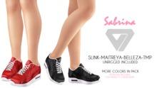 ILLI - [SLink,TMP,Maitreya,Belleza] Sabrina Sneakers (HUD Driven)