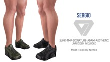 ILLI - [SLink,MeshProject Men,Signature,Aesthetic] Sergio Sneakers (HUD Driven) PROMO